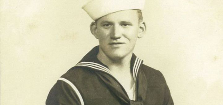 Horace Taylor, of Etowah County, was a gunner's mate and gun captain on the USS Register. (Contributed)