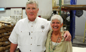 Jeff and Peggy Sutton operate the To Your Health Sprouted Wheat Co. in Bullock County.
