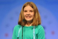 Huntsville 5th grader Erin Howard in the 2016 Scripps National Spelling Bee (Photo: Scripps National Spelling Bee Facebook)