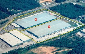 """""""Project Sunrise"""" could take the more than 1 million square feet vacated by Meadowcraft in Pinson Valley. (photo from Graham & Co.)"""