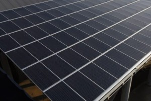 Solar power is an important part of Walmart's plan to evolve into a more environmentally sustainable company. (File)