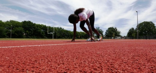 Jayla is now ranked No. 2 in the nation. She practiced earlier this month at Hayes K-8 in preparation for upcoming matches. (Bruce Nix/Alabama NewsCenter)