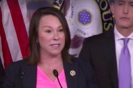 Rep. Martha Roby (R-AL2) at a press conference discussing the Benghazi Select Committee's report.