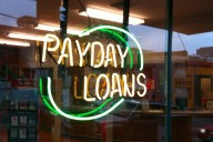 Payday loan sign (Photo: Flickr)