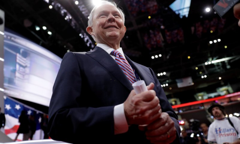 Sen. Jeff Sessions (R-Ala.) at the Republican National Convention (Photo: Matt Rourke)