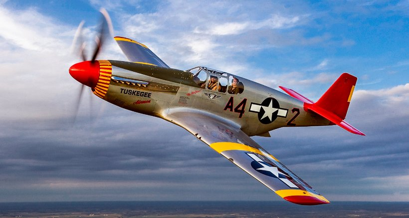 The CAF Red Tail Squadron's P-51C Mustang (Photo: Max Haynes)