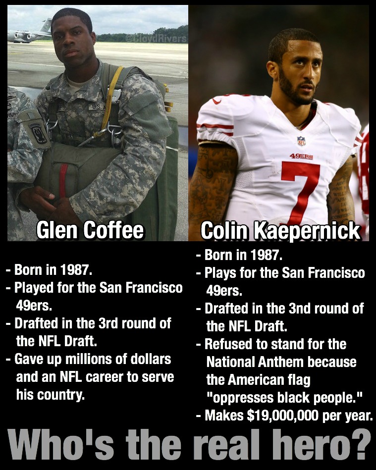 Glenn Coffee Colin Kaepernick
