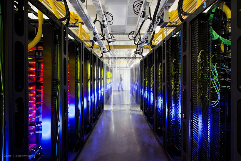 Data centers like the one Google operates in Council Bluffs, Iowa, bring large amounts of capital investment in the technological infrastructure and creates good-paying jobs. (Google)