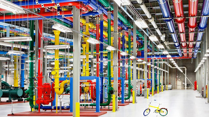 Google data centers like the one in Douglas County, Ga., can bring color to a community's economy. (Google)