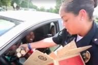 Montgomery police cookie road block