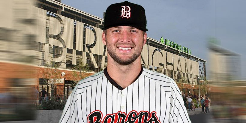 5f2a41ec0 Tim Tebow wants to play pro baseball and the Barons apparently want ...