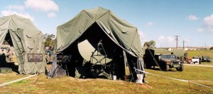HDT Global produces a number of shelter systems for the military. (Image: HDT)
