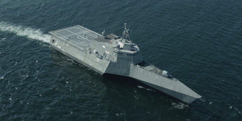 Littoral Combat Ship USS Montgomery (LCS8) (Photo: Austal USA)