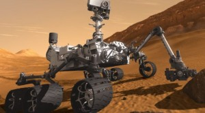 An artist rendering shows NASA's Mars 2020 rover, which will search for signs of ancient life on the Red Planet. (Image: NASA)