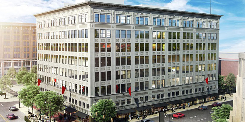 The Pizitz building is nearly ready for its second life as a mixed-use development after a $70 million restoration. (contributed)