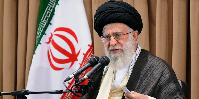 Sayyed Ali Hosseini Khamenei, the Supreme Leader of Iran.