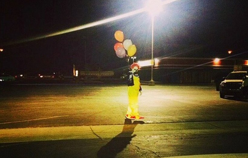 This photo was posted to the Wasco Clown instagram account on Oct. 7