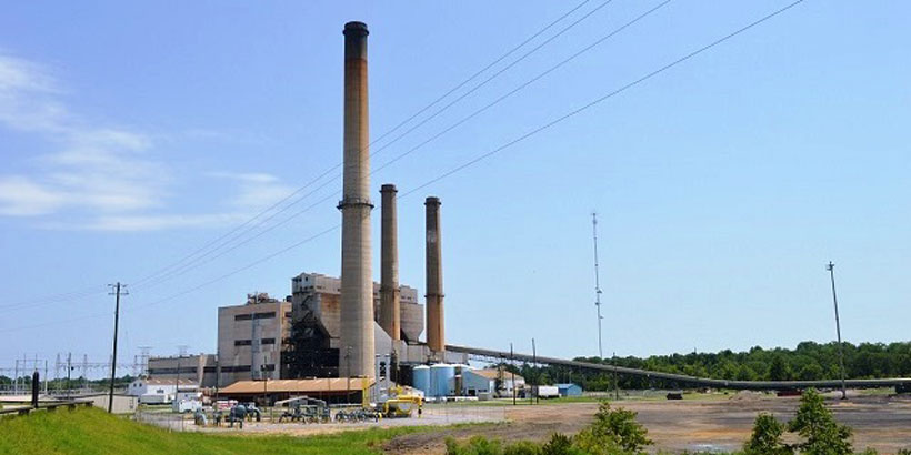 Alabama Power's Plant Greene County has completed its two-year transition from coal to natural gas. (Anna Catherine Roberson/Alabama NewsCenter)