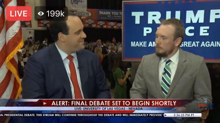 Alabamians Propel Trump S Unprecedented Facebook Live