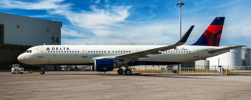 The freshly-painted Airbus A321 will fly over the Iron Bowl on Saturday. (Airbus)