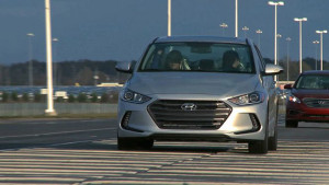Hyundai's Alabama assembly plant has a 2.3 mile track for testing braking, handling and other features of the vehicles it makes in Montgomery. (Image: Hyundai)