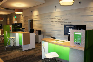 Instead of teller lines, the new Regions branch offers all banking services through universal bankers. (contributed)