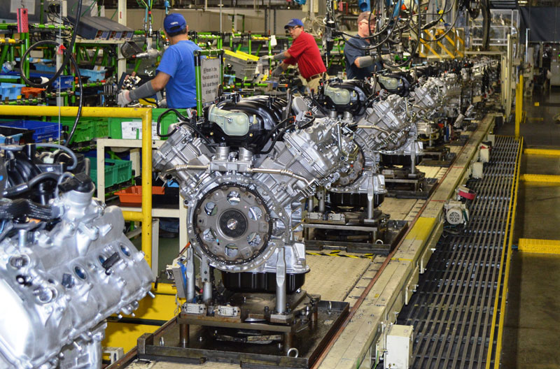 Toyota's Alabama engine plant, which now employs 1,350, has been in constant growth mode. (Image: Toyota)