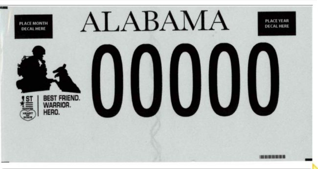Win-win: new license plate allows Alabamians to support