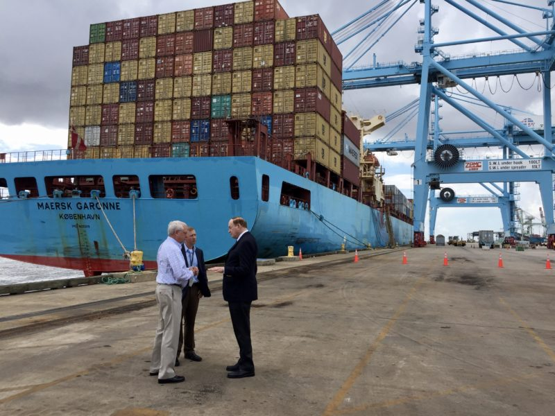 Shelby Visits Port Of Mobile As Alabama Creates Jobs And