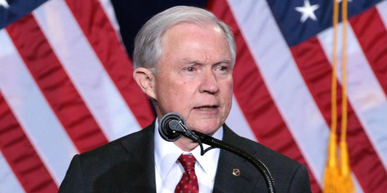 Take that, Left Coast! Alabama's Jeff Sessions files anti-sanctuary lawsuit against California