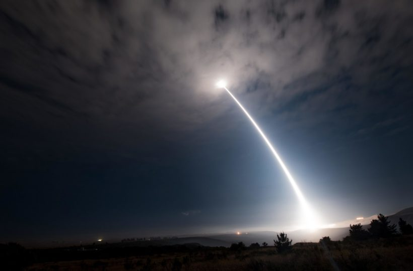 Missiles to be tested from Vandenberg Air Force Base