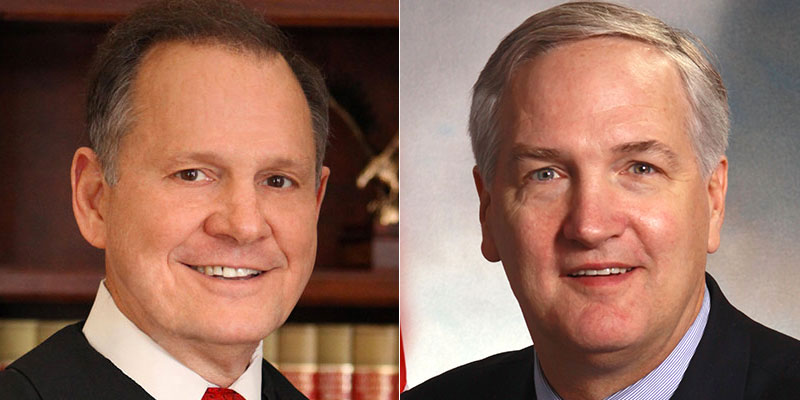 Roy Moore, Luther Strange Head for Runoff in Alabama Senate Race