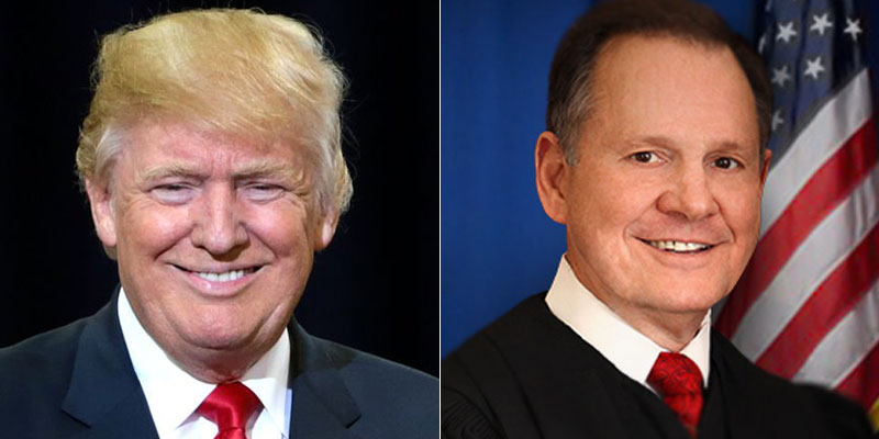 Trump Embraces Roy Moore Says He Ll Help Make America