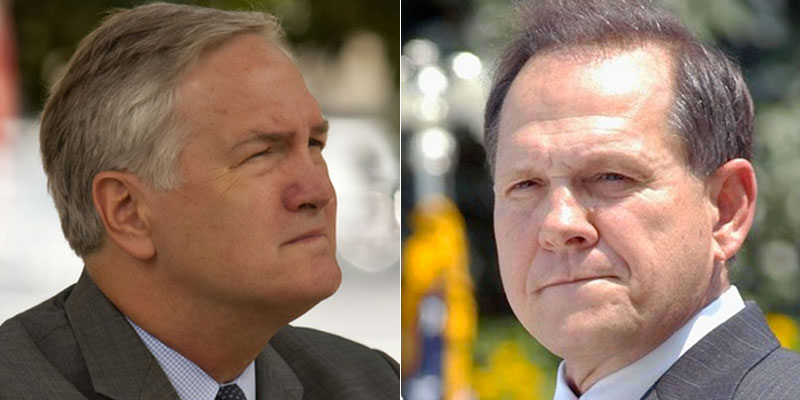 Senate GOP Run-Off Debate Set in Ala., Moore Vs. Sen. Strange