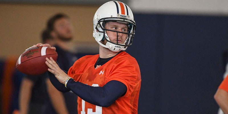 Auburn's Quarterback Had More Than A Little Too Much Fun This Weekend