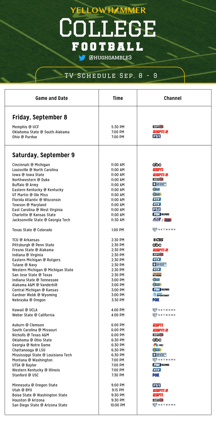 Comprehensive image regarding nfl week 6 printable schedule