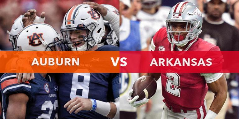 College Football Preview: Auburn vs. Arkansas