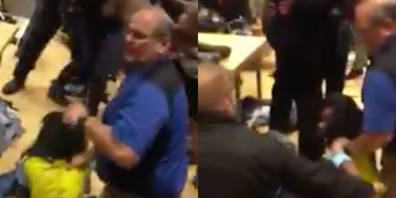 Someone Threw a Shoe at a Baby During Black Friday Shopping Craziness
