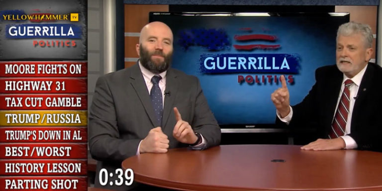 Yellowhammer Presents: Guerrilla Politics … Roy Moore's refusal to concede, the best/worst of 2017 in Alabama politics, and more!