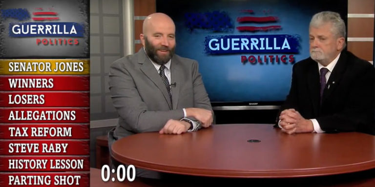 Watch: The end of the Alabama Senate race, President Trump's tax bill and more on today's episode of Guerrilla Politics