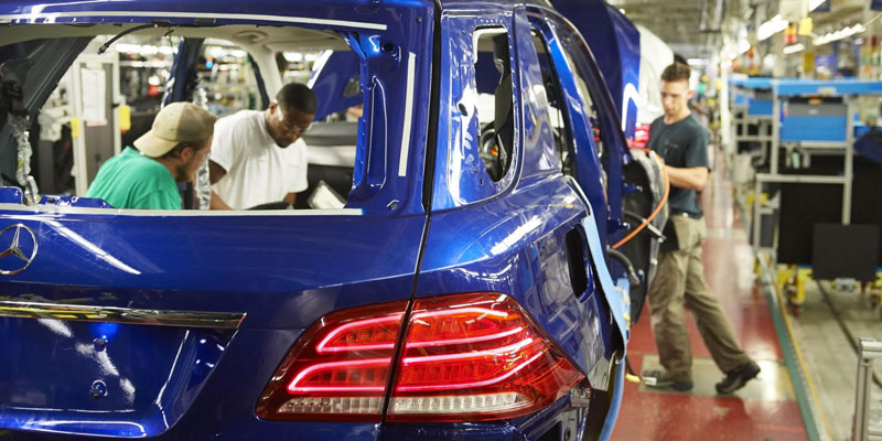 Sas automotive systems to support mercedes production in for Mercedes benz jobs alabama