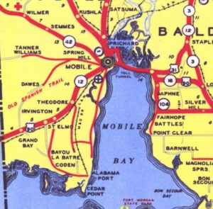 Crossing Mobile Bay – a century-old problem for southwest