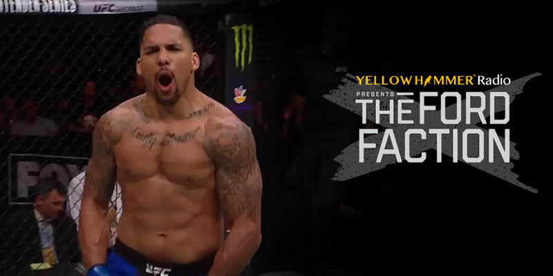 Yellowhammer Radio: MMA fighter and former Crimson Tide football player  talks about his life and upcoming fight