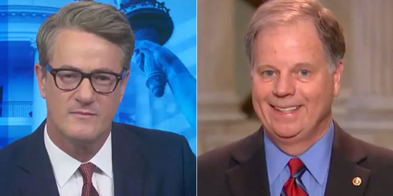 Watch: Doug Jones – 'It's going to be a tug-of-war both ways for my vote'