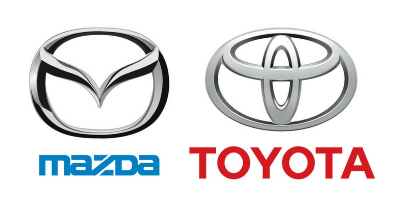 Toyota, Mazda plan to build factory in Alabama