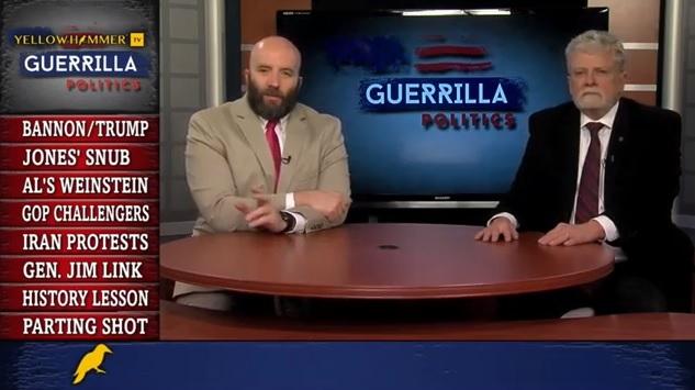 Yellowhammer Presents: Guerrilla Politics … Bannon vs. Trump, Congressional challengers for Alabama Republicans, Doug Jones' snubs Richard Shelby, and more …