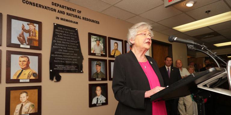 Alabama's fallen conservation officers memorialized — Dave Rainer