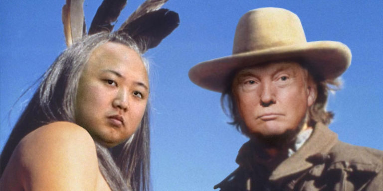 President Trump channels 'Josey Wales and Ten Bears' in negotiations with North Korea
