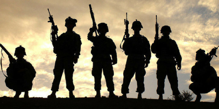 America's war heroes are born, not made
