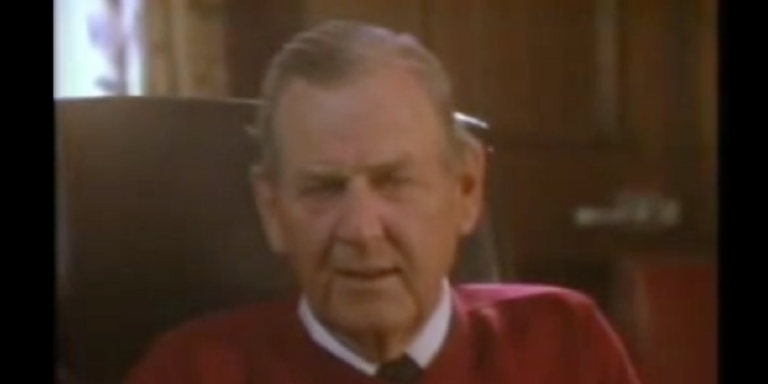 Bear Bryant 'Have you called your mama today?' (VIDEO)